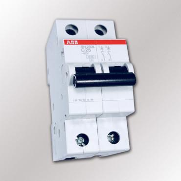 Автоматический выключатель ABB SH202L C25